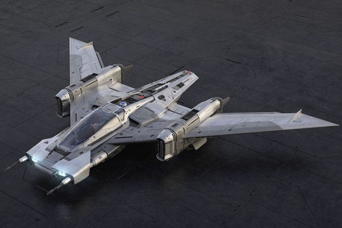 Star Wars Starfighter von Porsche